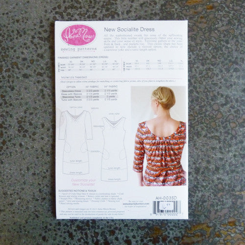 Anna Maria Patterns : New Socialite Dress Thumbnail