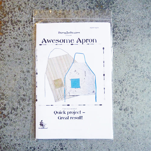 Story Quilts : Awesome Apron Thumbnail