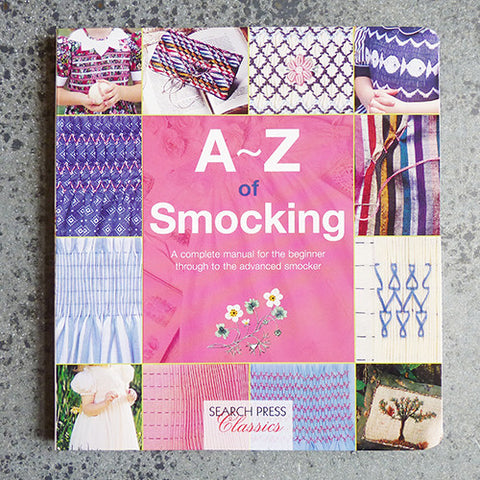 a - z of smocking book