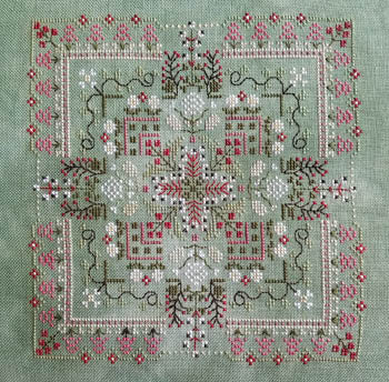 Counted Cross Stitch Pattern: Baneberry