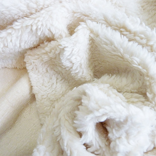 Birch Organic Cotton Sherpa - Cream