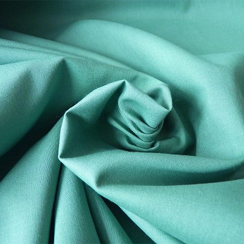 Birch Organic Fabric : Mod Basic Solids - Pond Thumbnail