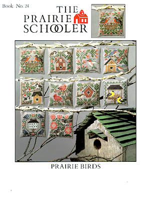 Counted Cross Stitch Pattern: Prairie Birds