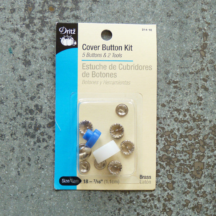 Dritz : Cover Button Kit Thumbnail