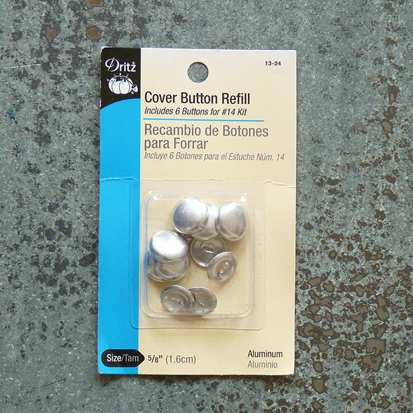 buttons to cover