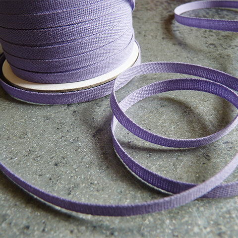 Studio Carta : Tight Weave Cotton Ribbon - Lavender