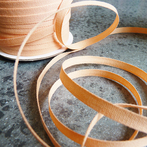 Studio Carta : Tight Weave Cotton Ribbon - Peach