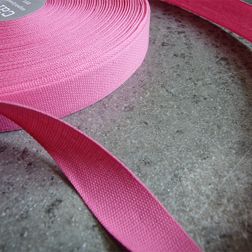 Studio Carta : Tight Weave Cotton Ribbon - Fuschia