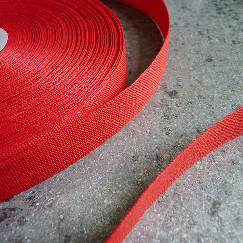 Studio Carta : Tight Weave Cotton Ribbon - Red