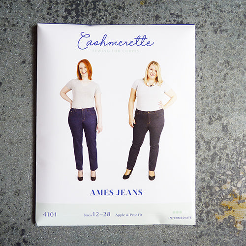 cashmerette sewing pattern ames jeans