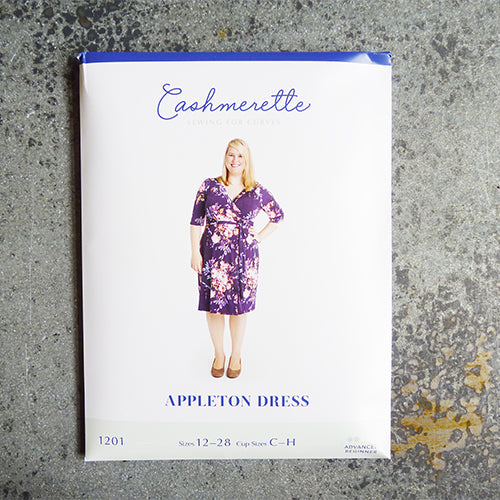 cashmerette sewing pattern appleton wrap dress
