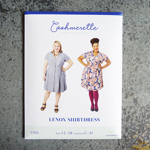 cashmerette sewing pattern lenox shirtdress