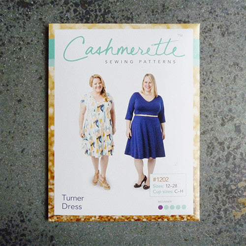 cashmerette sewing pattern turner dress