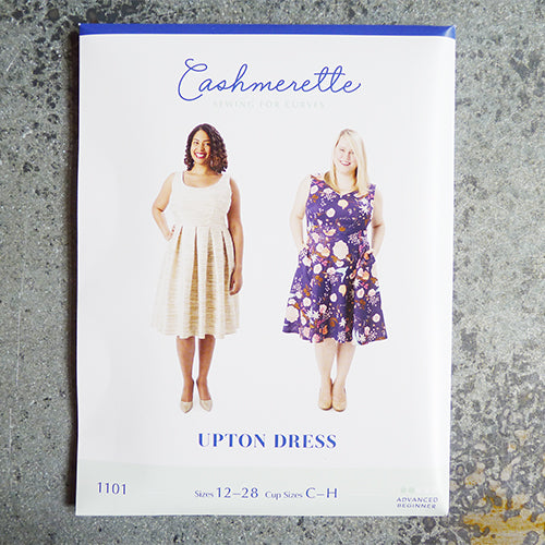 cashmerette sewing pattern upton dress