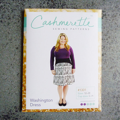 cashmerette sewing pattern washington dress