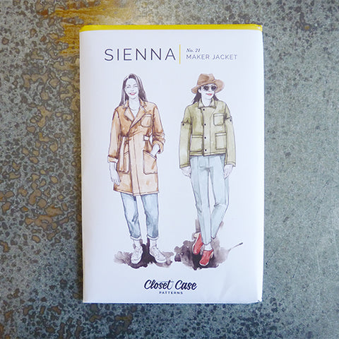 closet case sewing patterns sienna maker jacket