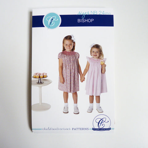 Children's Corner Patterns : Bishop smock dress