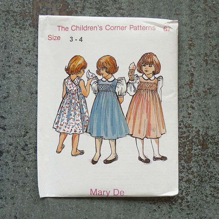 Children's Corner Patterns Mary De New Childrens Corner Patterns