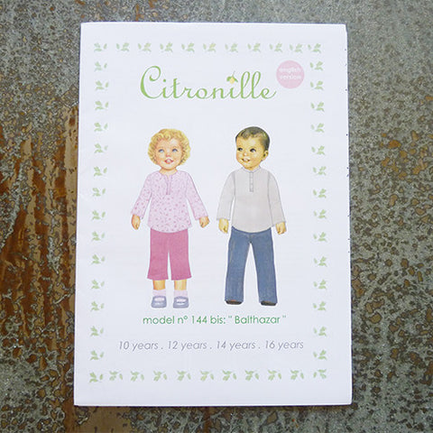 citronille sewing pattern balthazar teen top