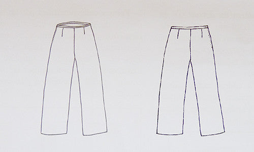 citronille sewing pattern gabrielle adult pants