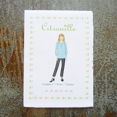citronille sewing pattern gretel adult tunic