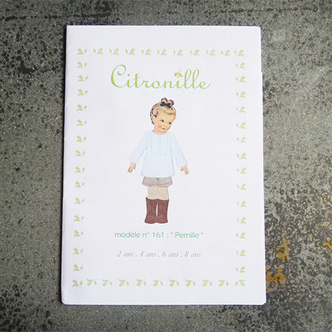 citronille sewing pattern pernille child top