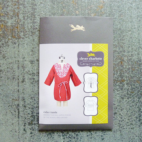 Clever Charlotte Patterns : Eider Tunic Thumbnail