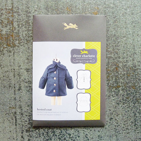 clever charlotte patterns kestrel coat