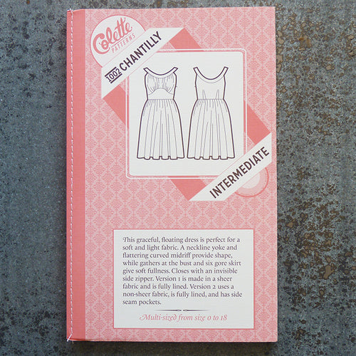 Colette Patterns : Chantilly Dress sewing pattern front