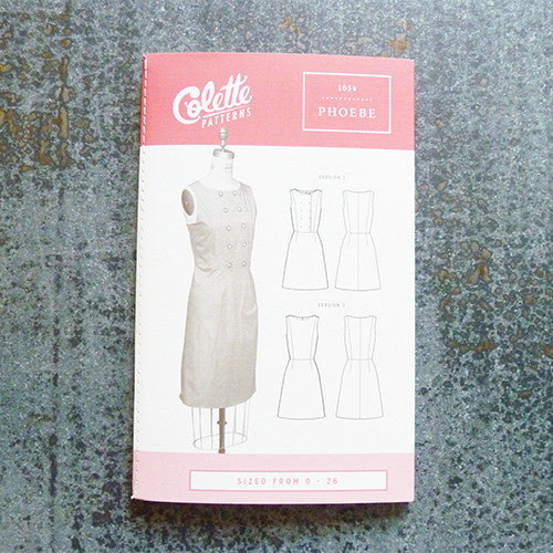 colette sewing pattern pheobe dress