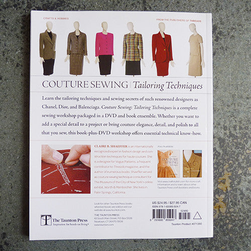 Couture Sewing : Tailoring Techniques - Claire B. Shaeffer Thumbnail