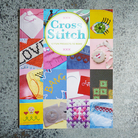 Cross Stitch book - 12 Fun Projects to Make