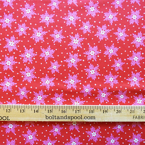 dashwood studio cotton fabric christmas dreams snowflakes