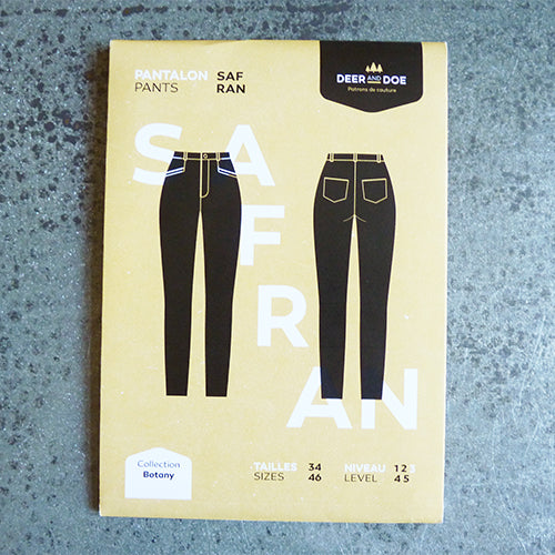 deer and doe sewing pattern safran skinny jeans