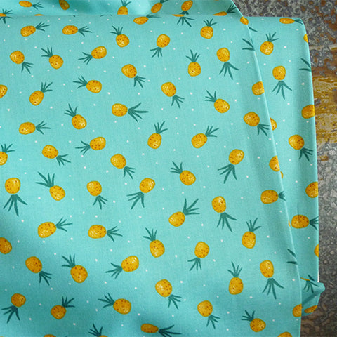 dear stella quilting cotton tropical print pienapple