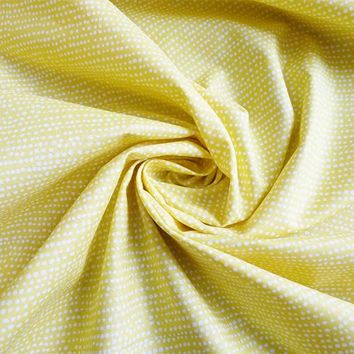 dear stella quilting cotton stripe dot banana yellow