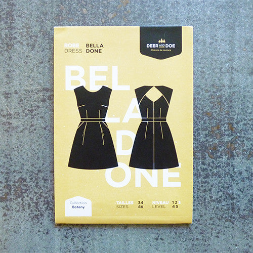 deer and doe sewing pattern belladone dress