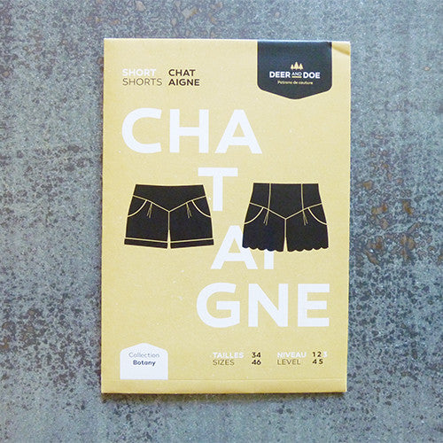 deer and doe sewing pattern chataigne shorts