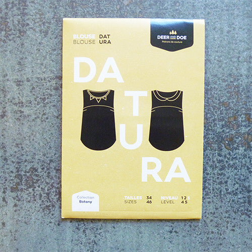 deer and doe sewing pattern datura blouse