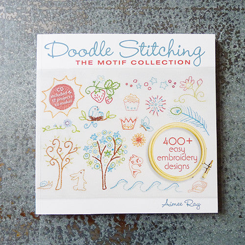 doodle stitching motif book