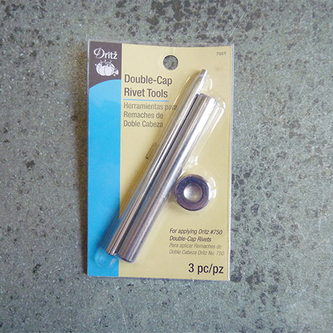 dritz double cap rivet tool