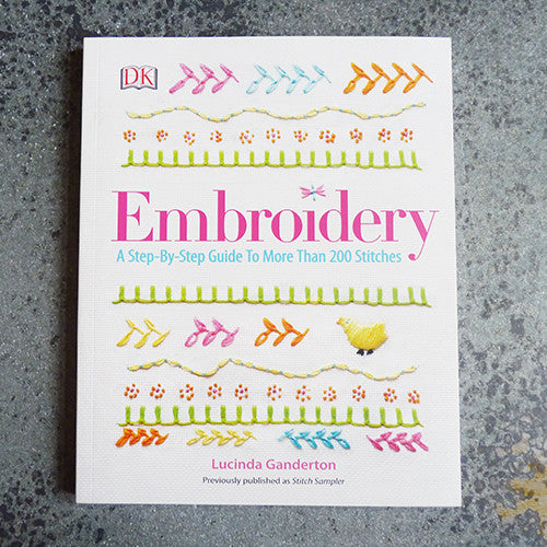 embroidery step by step guide lucinda ganderton