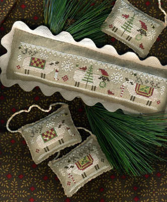 Counted Cross Stitch Pattern: Merry Eweies