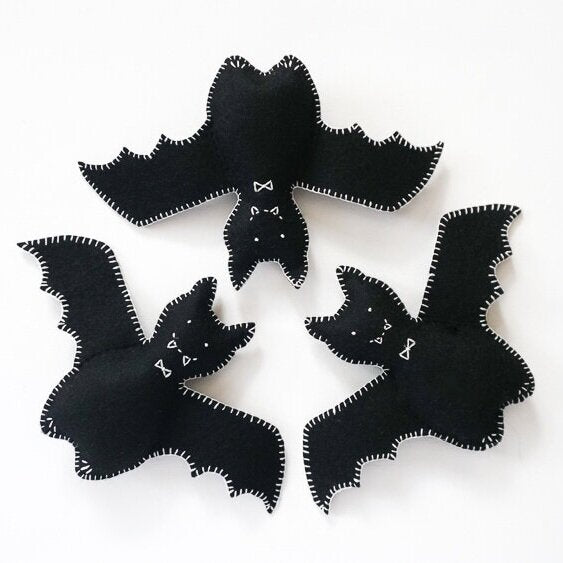 Fair Play Projects felt bats