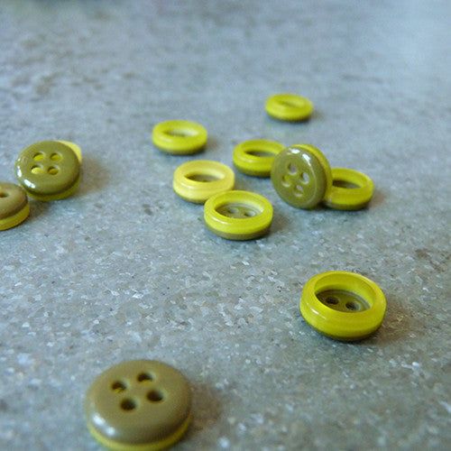 Fashion Rim Button - Yellow Thumbnail