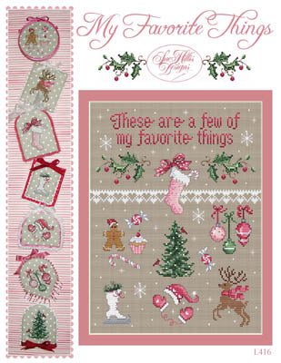 Counted Cross Stitch Pattern: My Favorite Things