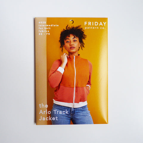 Friday Pattern Company : The Arlo Track Jacket