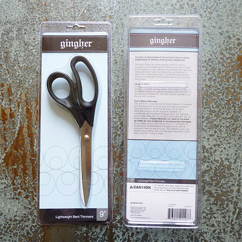gingher lightweight bent shears