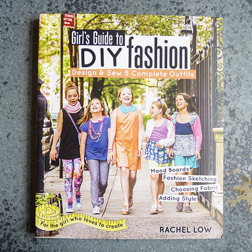 girls guide to diy fashion by rachel low