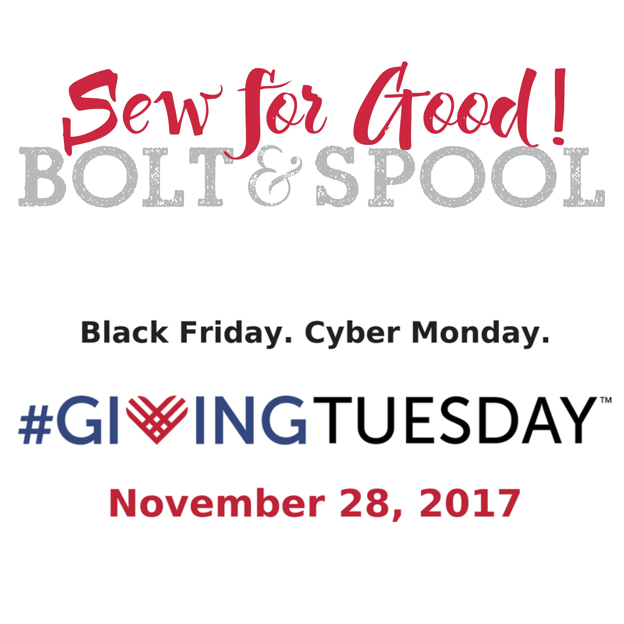 Nov. 28: Giving Tuesday Charity Sew